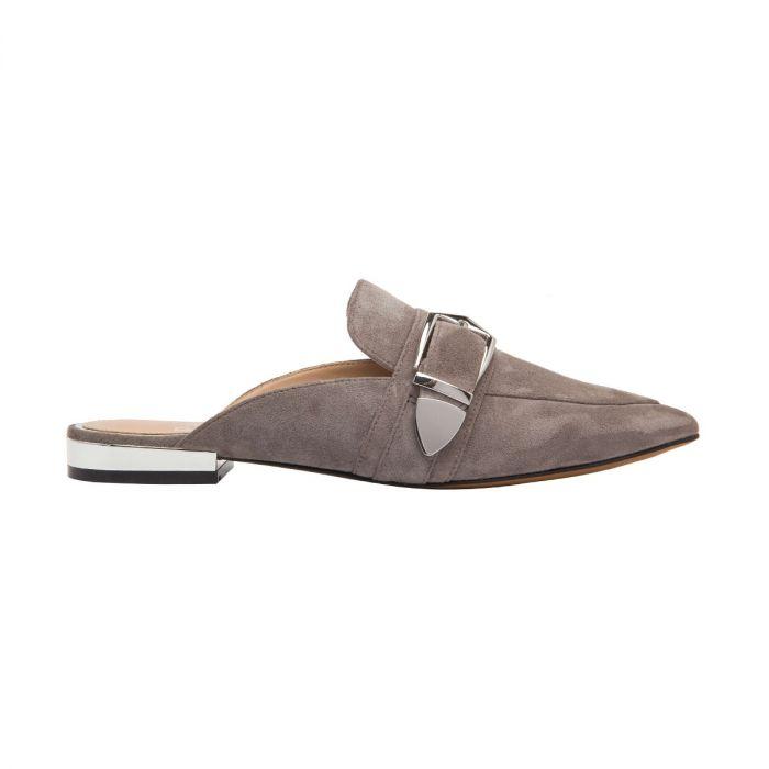 ACE | Menswear Inspired Pointy Apron Toe Slip-On Mule