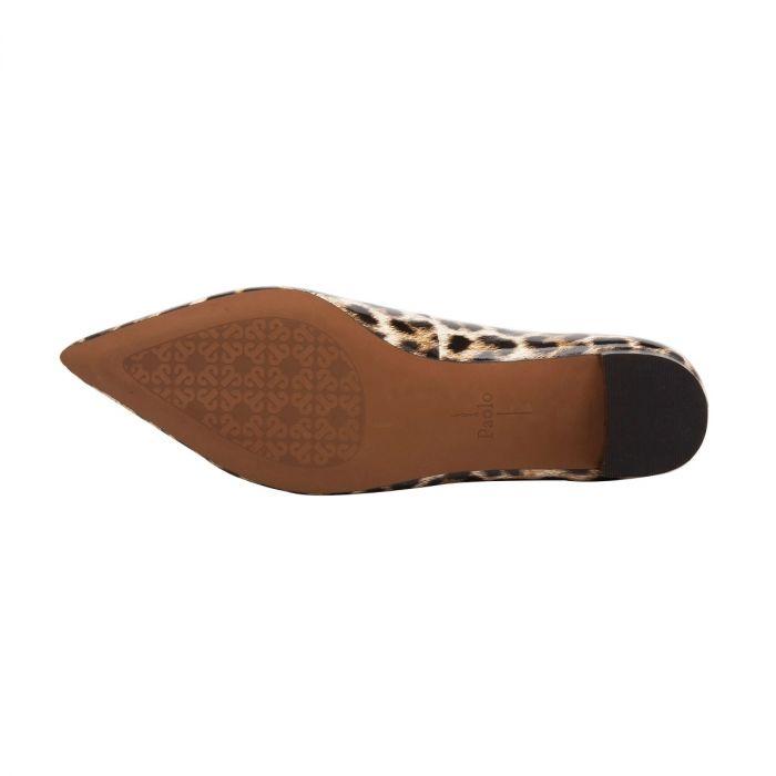 BELLINI II   Essential Low Block Heel Pointy Toe Hair Calf Pump