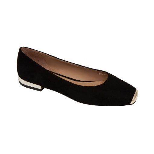 DEJA II | Modern Square Toe Ballet Flat