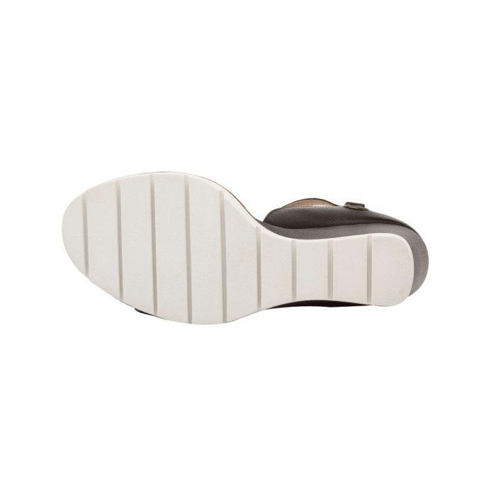 ELLA   Modern Luxe Leather High Wedge Sport Sandal