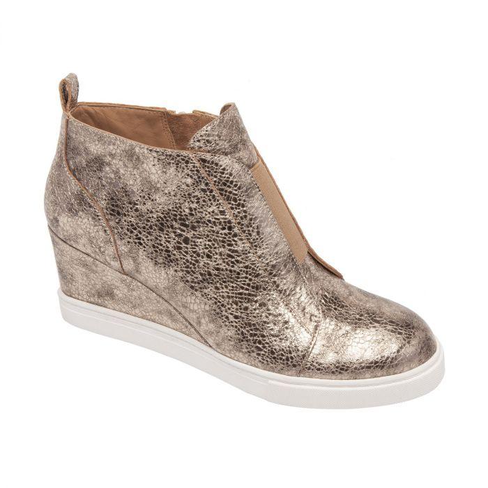FELICIA III | Our Original Platform Wedge Sneaker Bootie