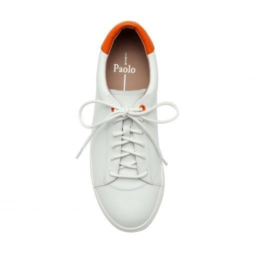 KAIA | Sporty Lace-Up Leather or Hair Calf Sneakers