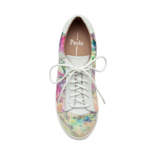 KAIA II | Sporty Lace-Up Leather or Hair Calf Sneakers