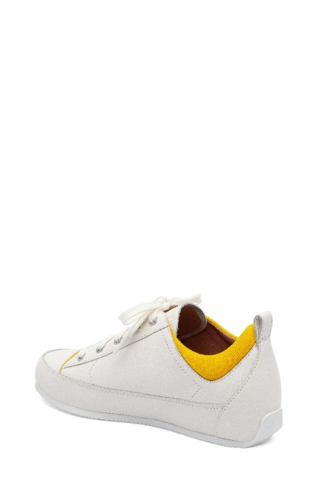 KRISTEN | Retro-Inspired Sporty Lace-Up Leather Fashion Sneaker