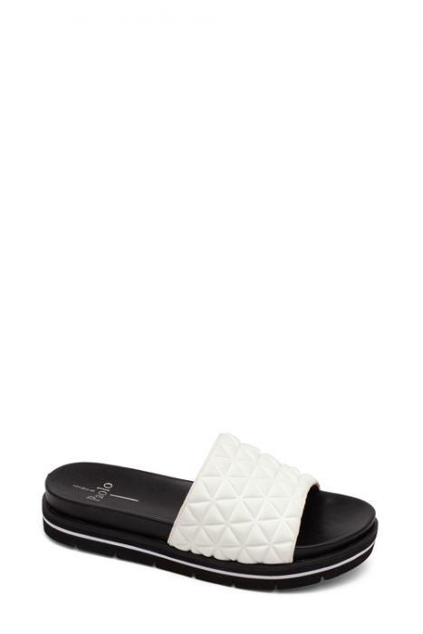 LEAH | Low Flatform Sport Sandal with Padded Fabric Upper