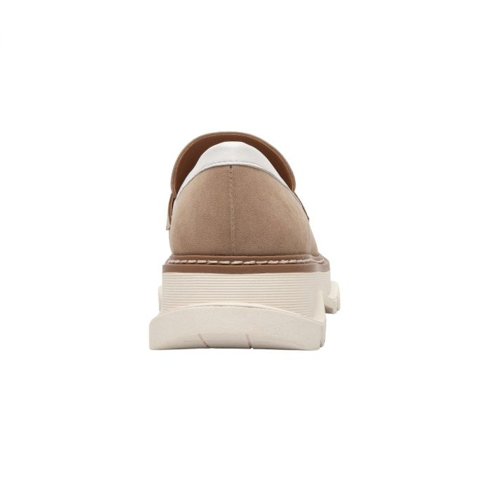 MINKA | This Seasons Must-Have Two-Tone Lug Sole Welted Loafer in Leather or Nubuck