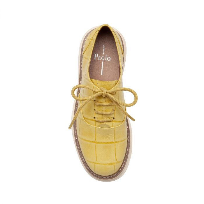 MOIRA   A Luxe Take on a Classic Leather Lace-Up Oxford Done-Up In An Exclusive Neutral Color Palette