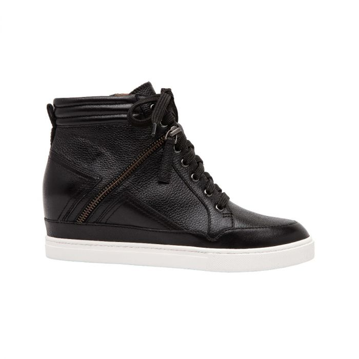 NAVA | A Sporty Leather Color Blocked Update on Our Best-Selling NIYA Sneaker Wedges