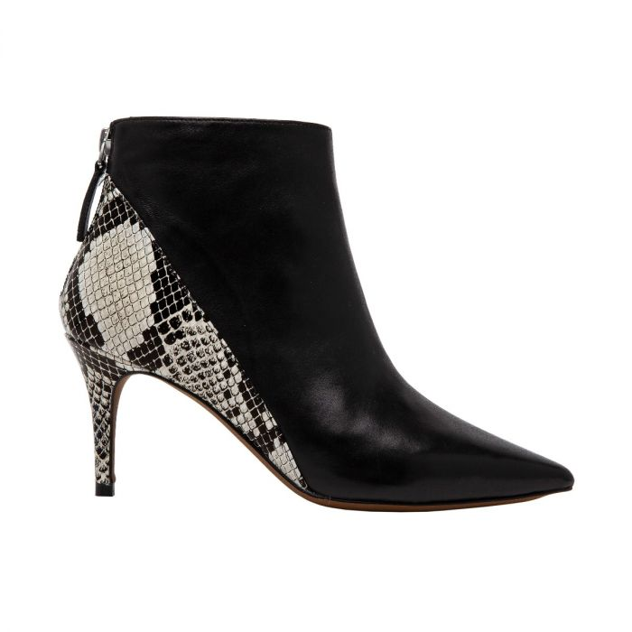 NICE | Chic Pointy Toe Ankle Bootie with Mid-Height Heel
