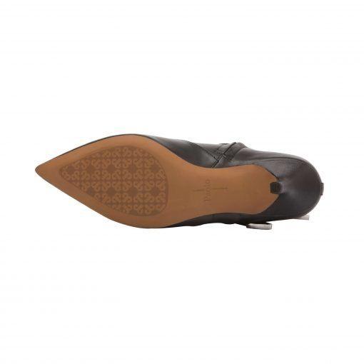 NIKITA II | Runway-Inspired Pointy Toe Mid-Height Buckled Ankle Bootie