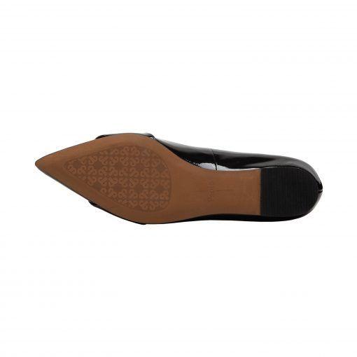 NIOLA | Modern Hidden Low Wedge Pointy Toe Ring Flat