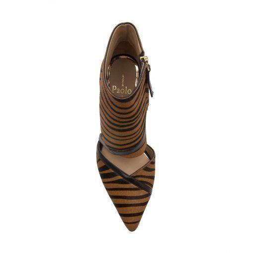 NOREEN II | Svelte Two Piece Cuffed High Heel Pointy Toe Pump
