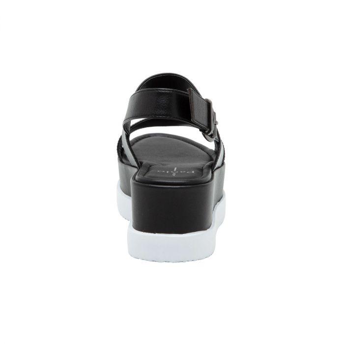 RENZ | Built-Up Leather Flatform Casual Sport Sandal