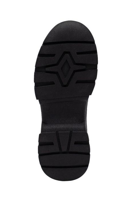 ROSELLE II  Built Up Lug Sole Low Hiker Sneakers with Elastic Vamp Gore
