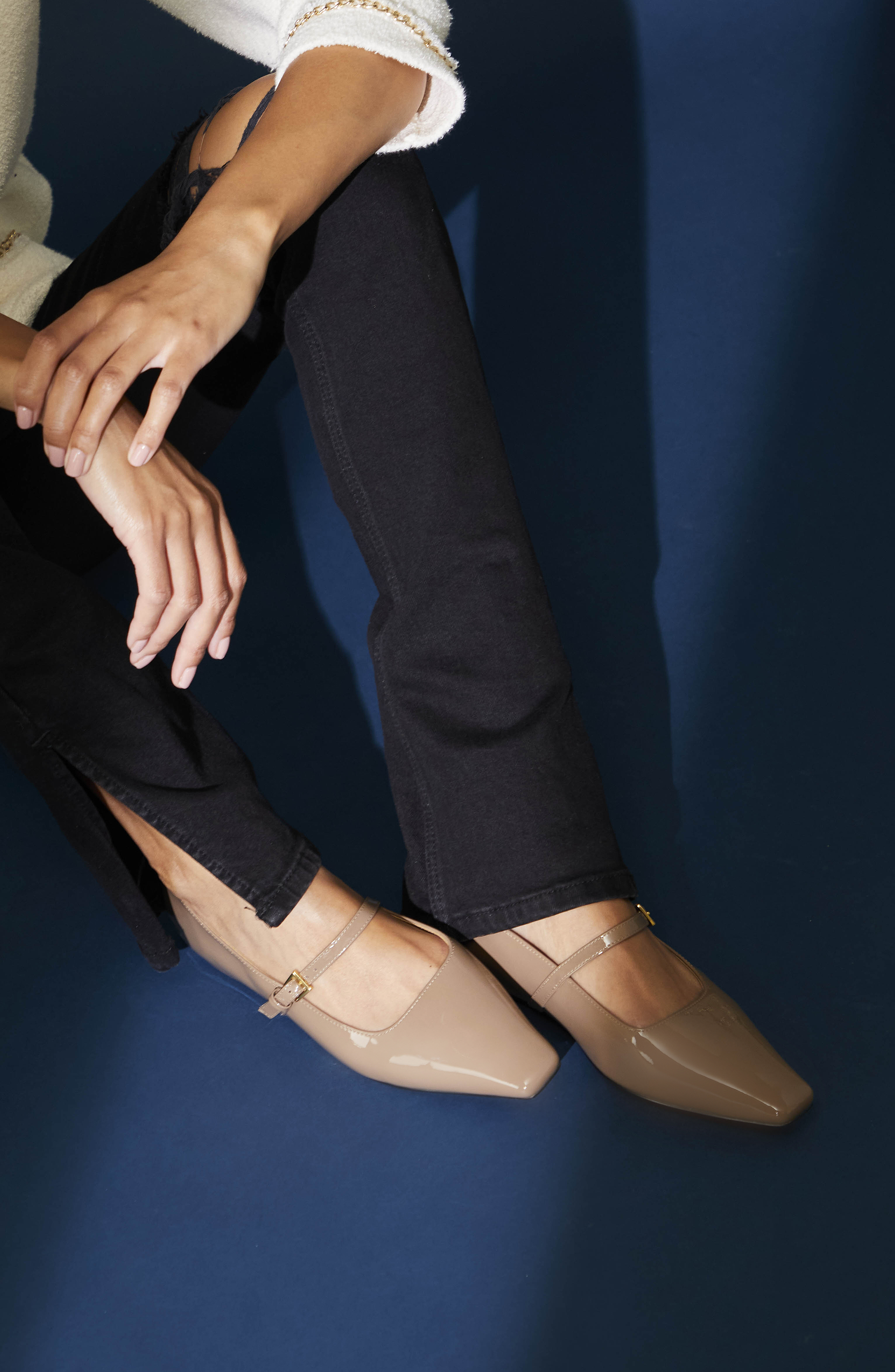Maple Women's Mary Jane Ballet Flat-Lookbook7