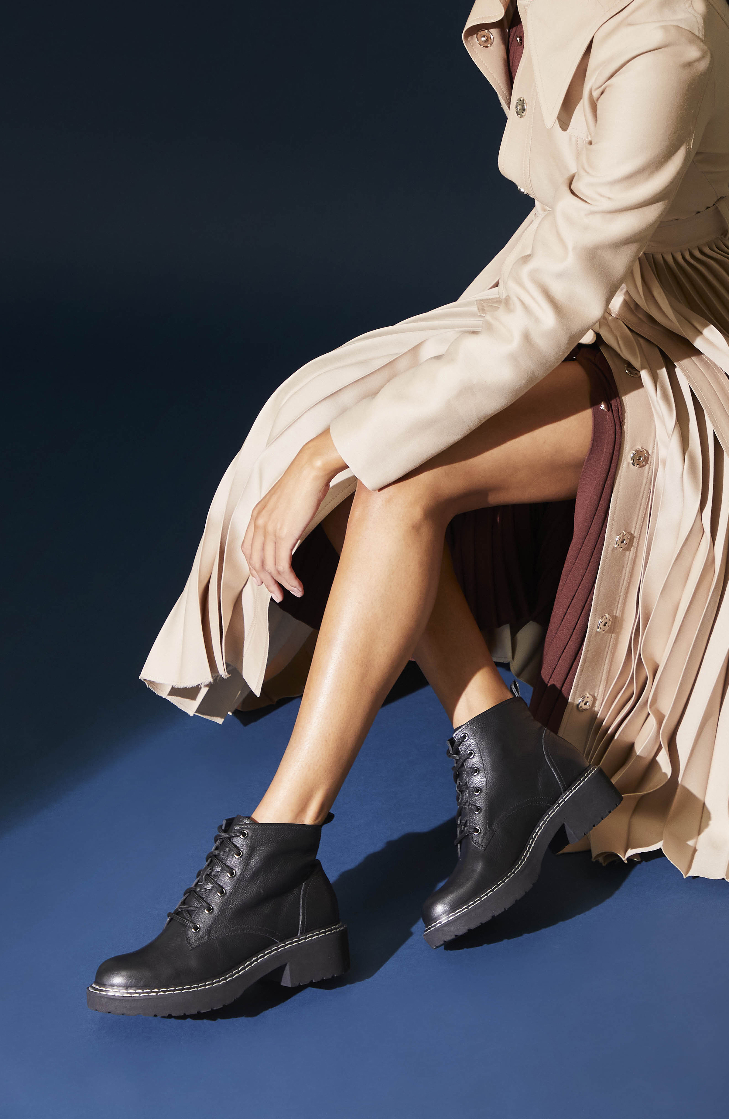 Taylor Women's Lace Up Lug Sole Bootie-Lookbook11