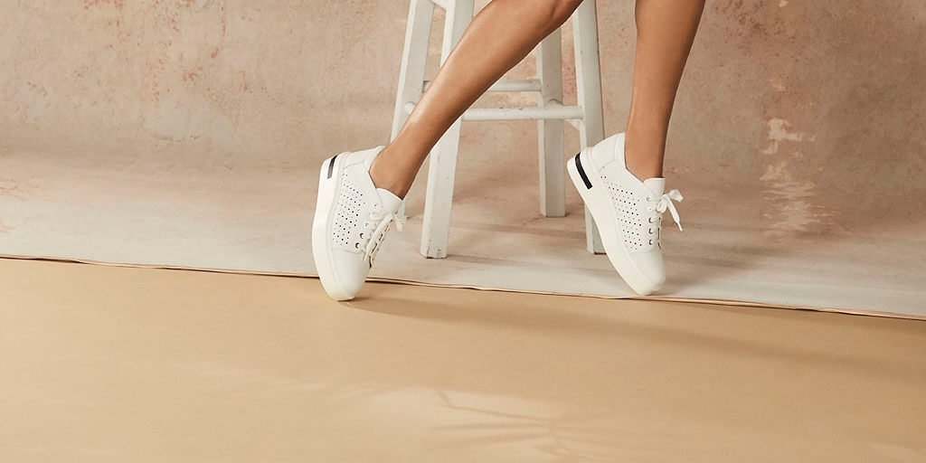Sporty Chic Platform Sneakers for Work and Play